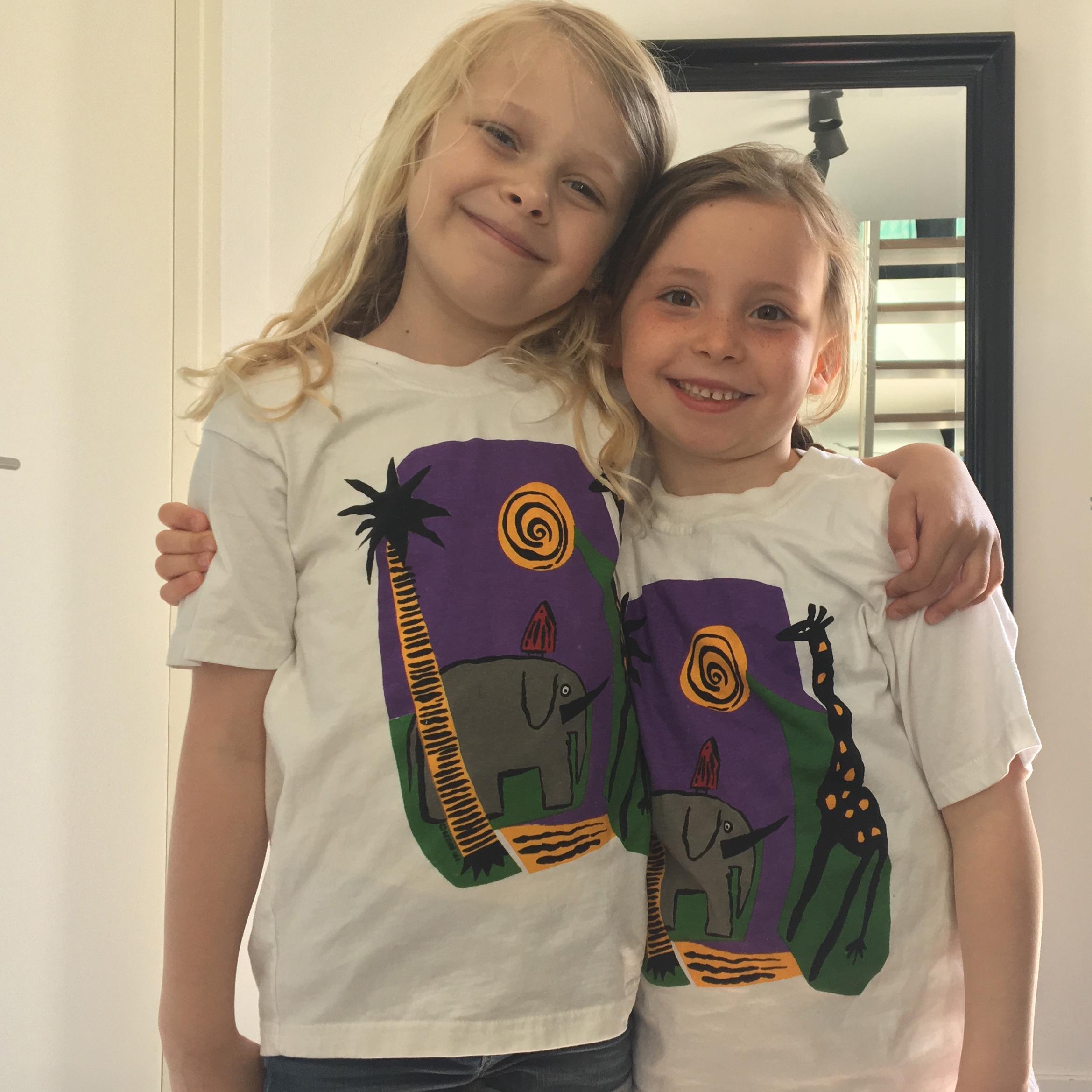 børne t-shirt, kunde