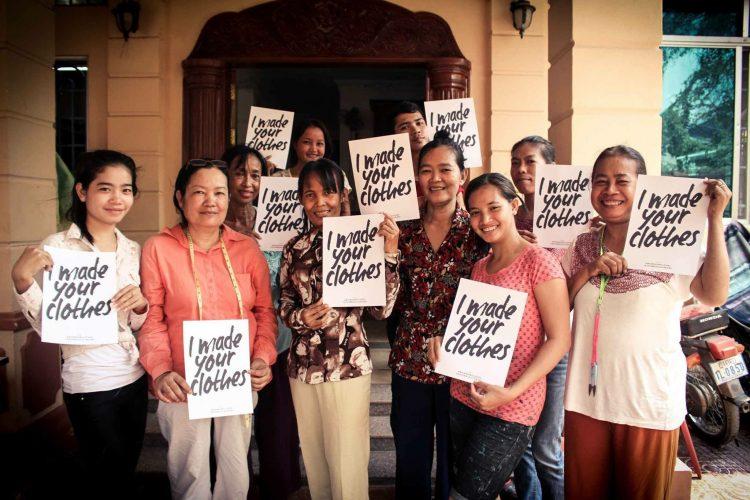 syersker i hos vores leverandør i Cambodia